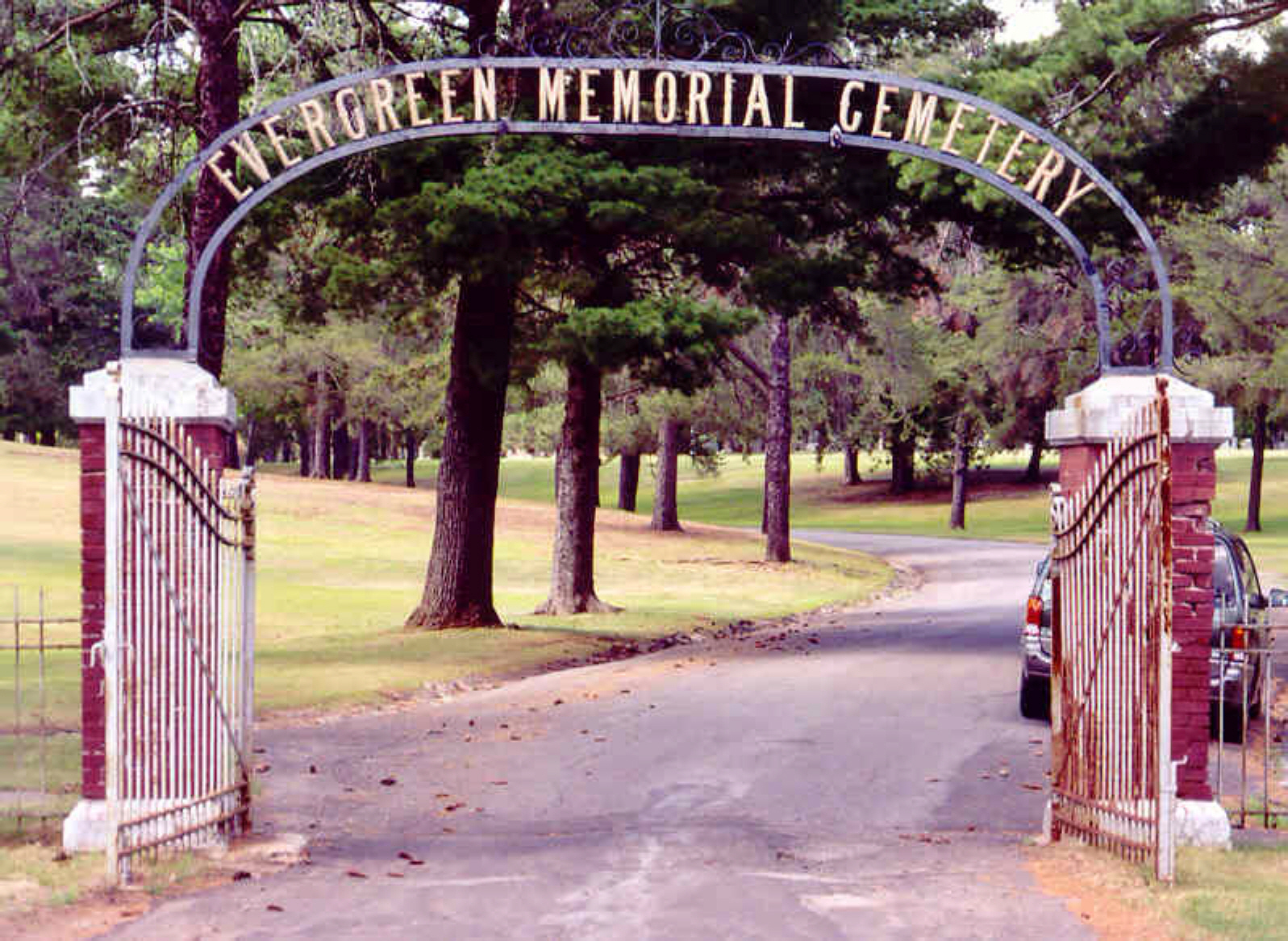 Evergreen Memorial Cemetery AKA Crystal Falls Cemetery