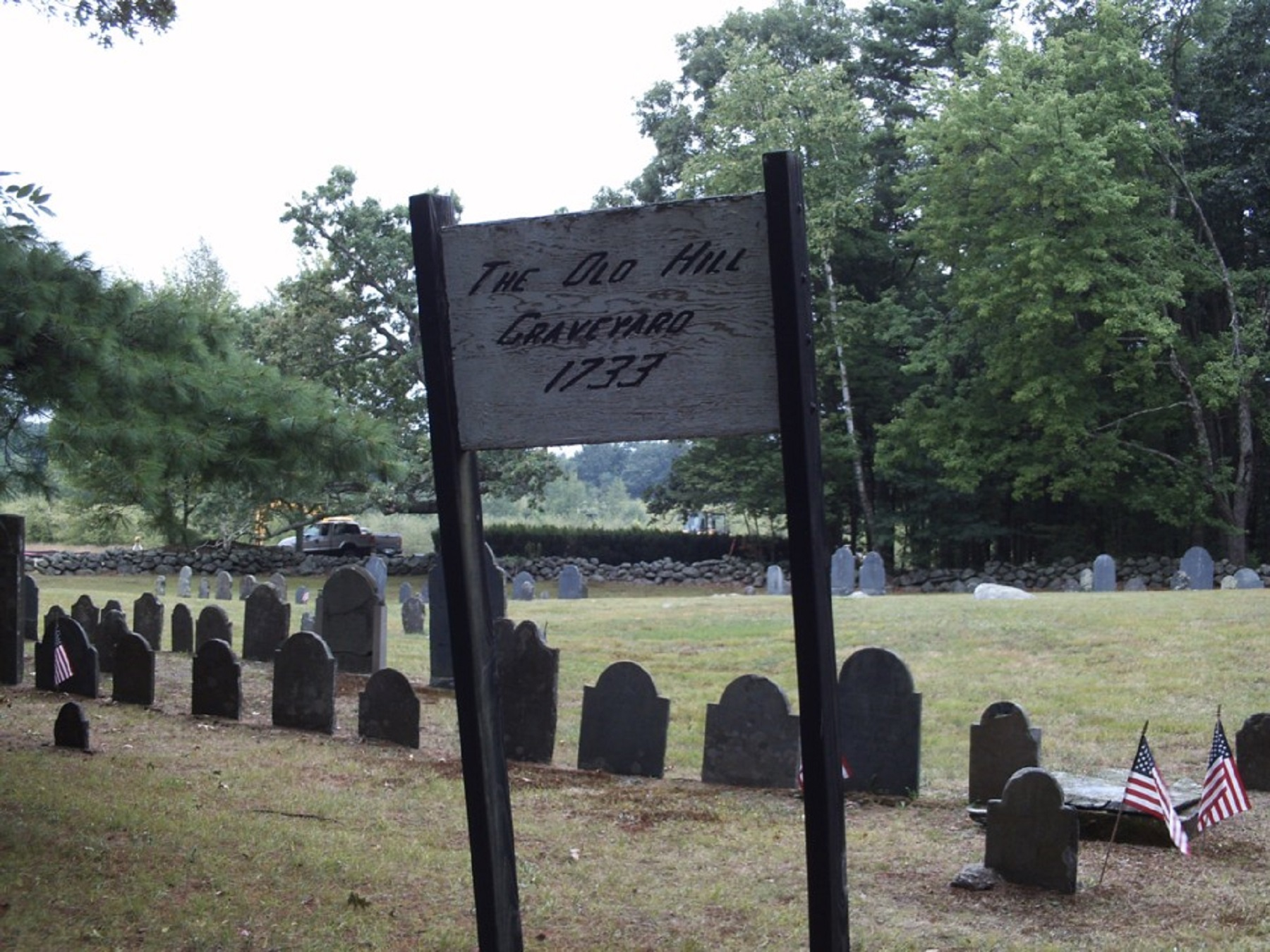 Old Hill Graveyard AKA Pinkerton Cemetery