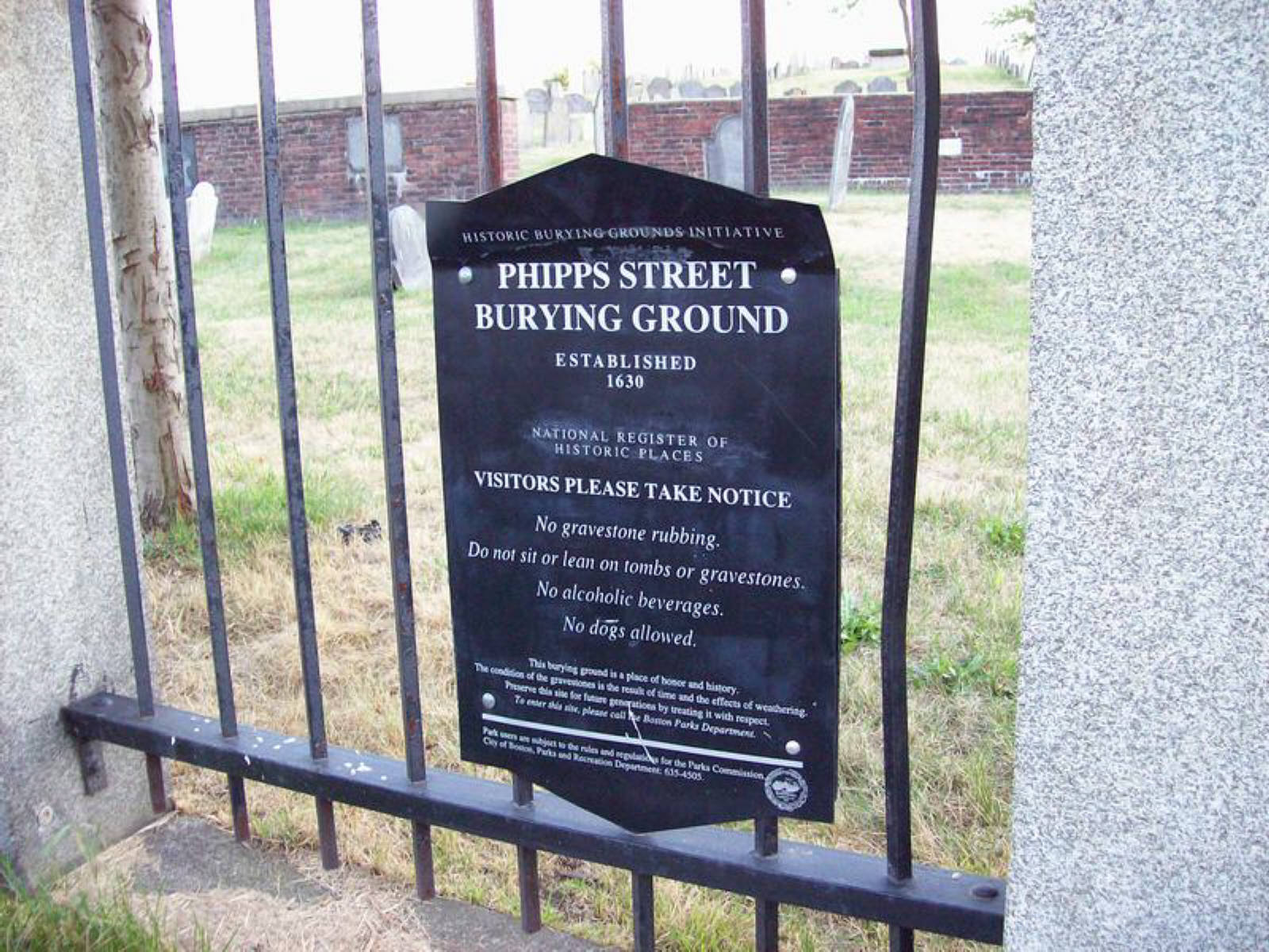 Phipps Street Burying Ground