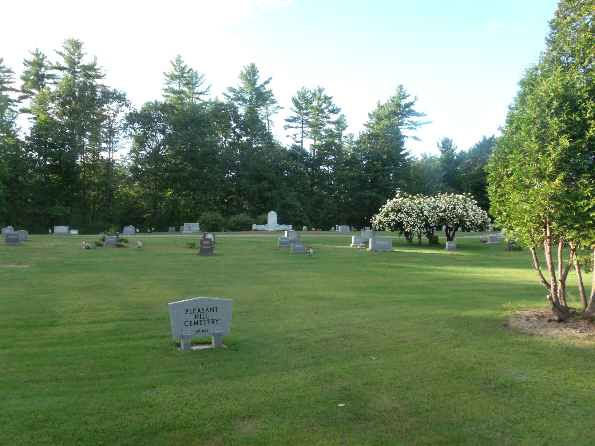 Pleasant Hill Cemetery AKA Treat Memorial Cemetery
