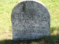 Carrie L. Wentworth gravestone