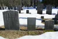 Ruth B. (Kelly) (Chase) Bartlett and sons gravestones