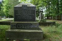 Charles W. Noyes memorial monument