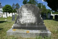 John Weare 'Johnnie' Noyes II gravestone - rear