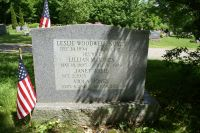 Leslie Woodwell Noyes, Sr. monument