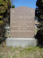 Allan Weare Sawyer monument