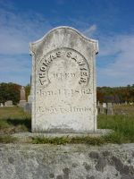 Thomas Sawyer gravestone